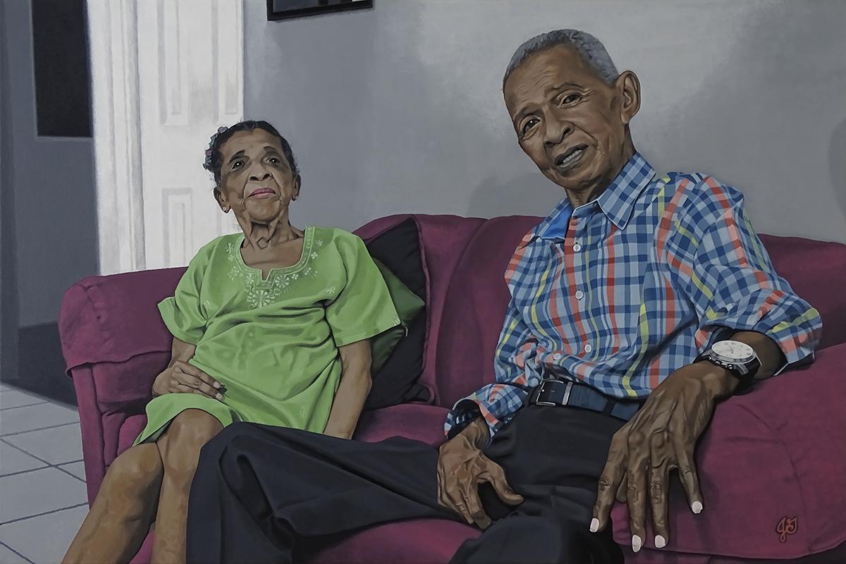 Madre Centenaria e Hijo, Panama City, Panama, 3 September 2015, by Jason Gilliam