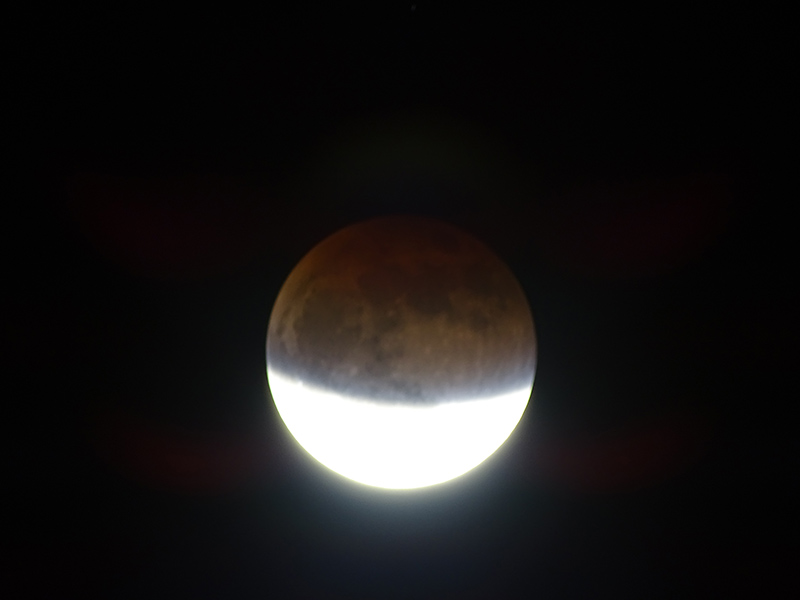 Super-Moon Eclipse, Panama, September 27, 2015, Photo by Jason Gilliam